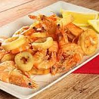 Frittura di calamari e gamberetti