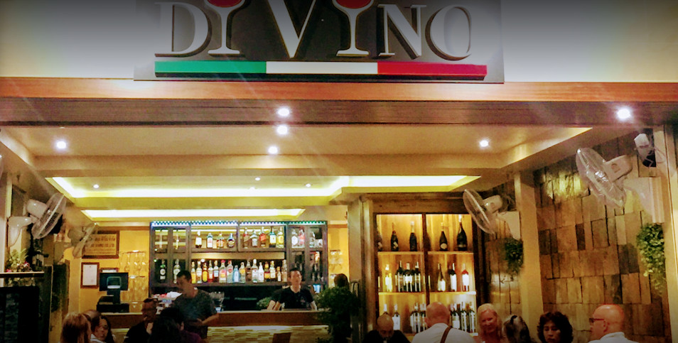 Italian Restaurant Samui Divino, Lamai beach